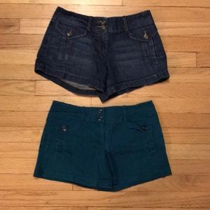 NY & Co brand Chino shorts